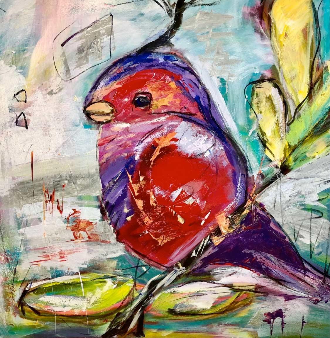 Caren Cunst - BIRD OUT OF PARADISE