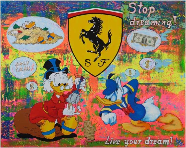 Andreas Görzen - STOP DREAMING DONALD