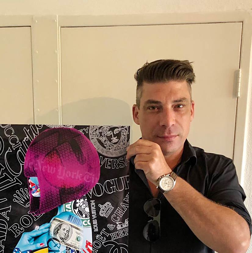 Künstler Michael Daniels