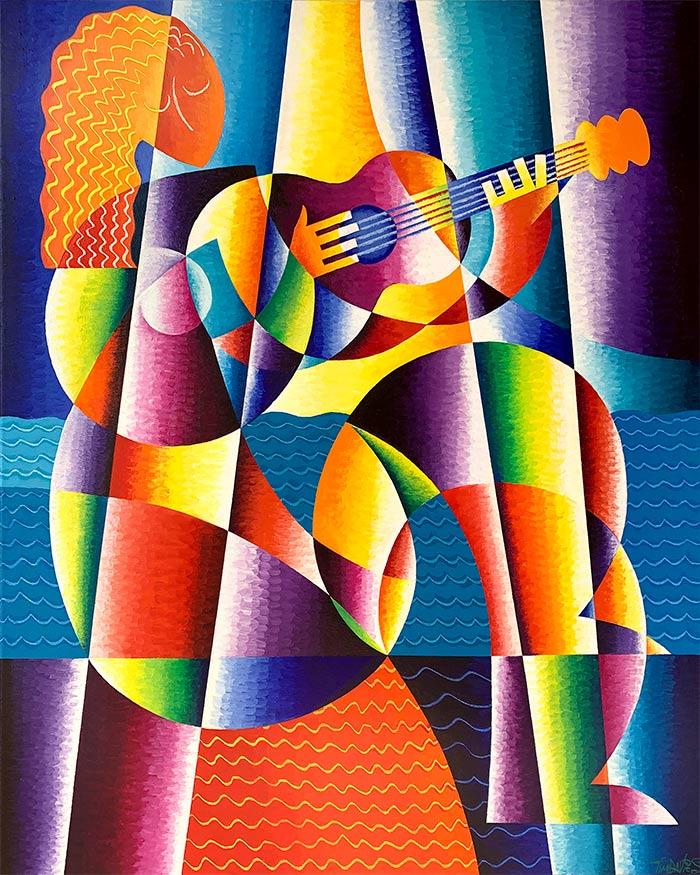 Tim Davies - Girl with Guitar