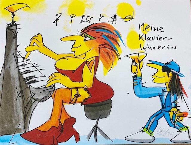 Udo Lindenberg - MEINE KLAVIERLEHRERIN